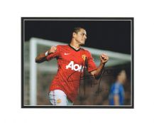 Javier Hernandez Autograph Signed Photo - Manchester United